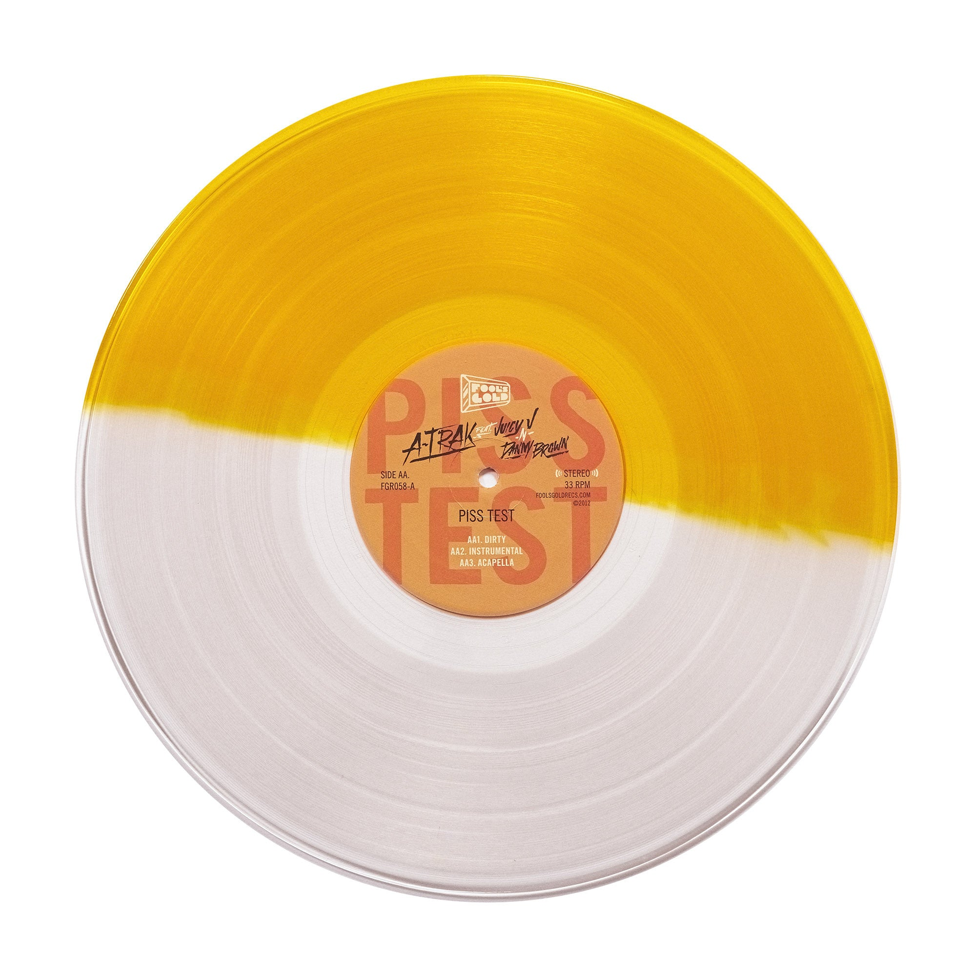 "A-Trak ""Money Makin / Piss Test"" Split Color 12"""
