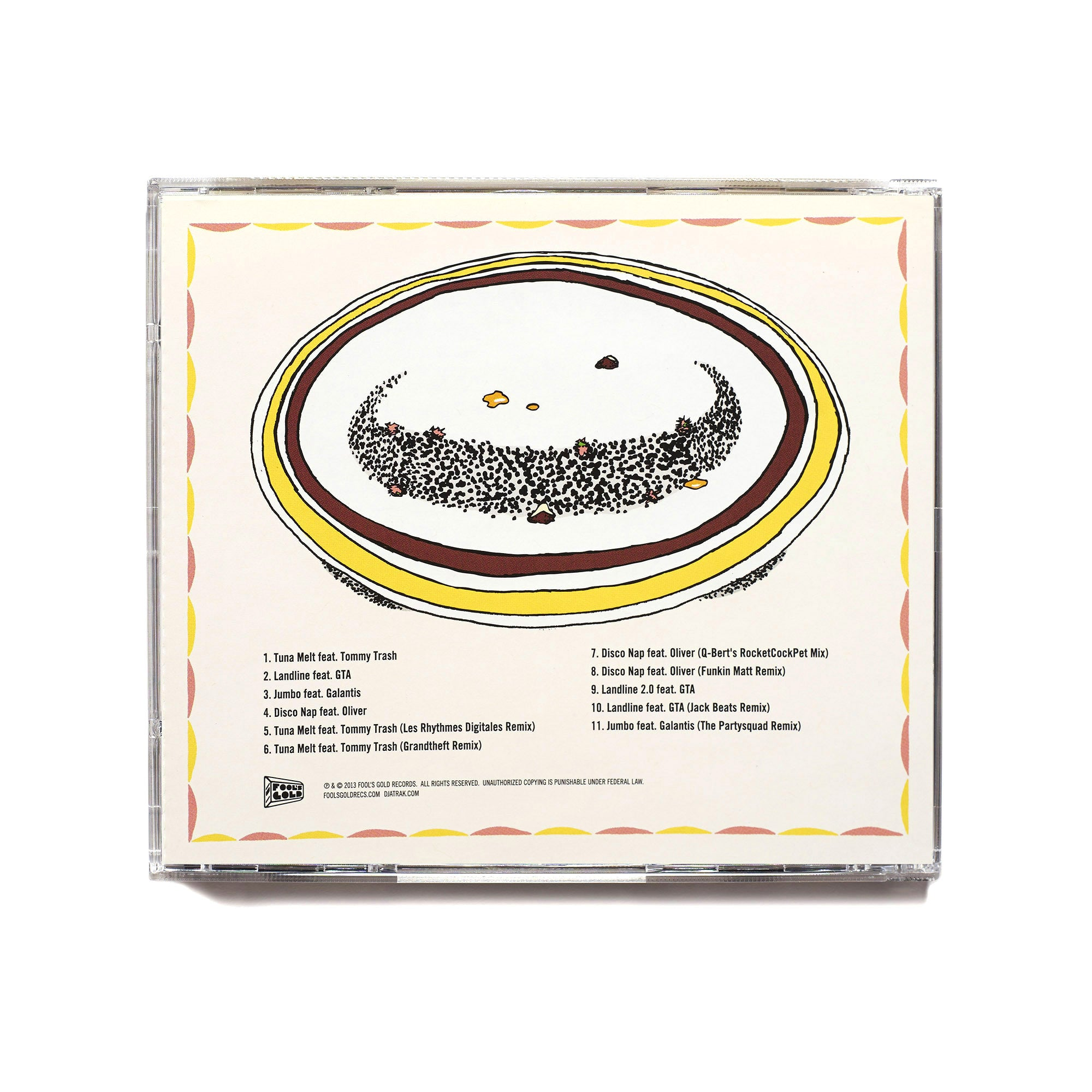 "A-Trak ""Tuna Melt"" CD"