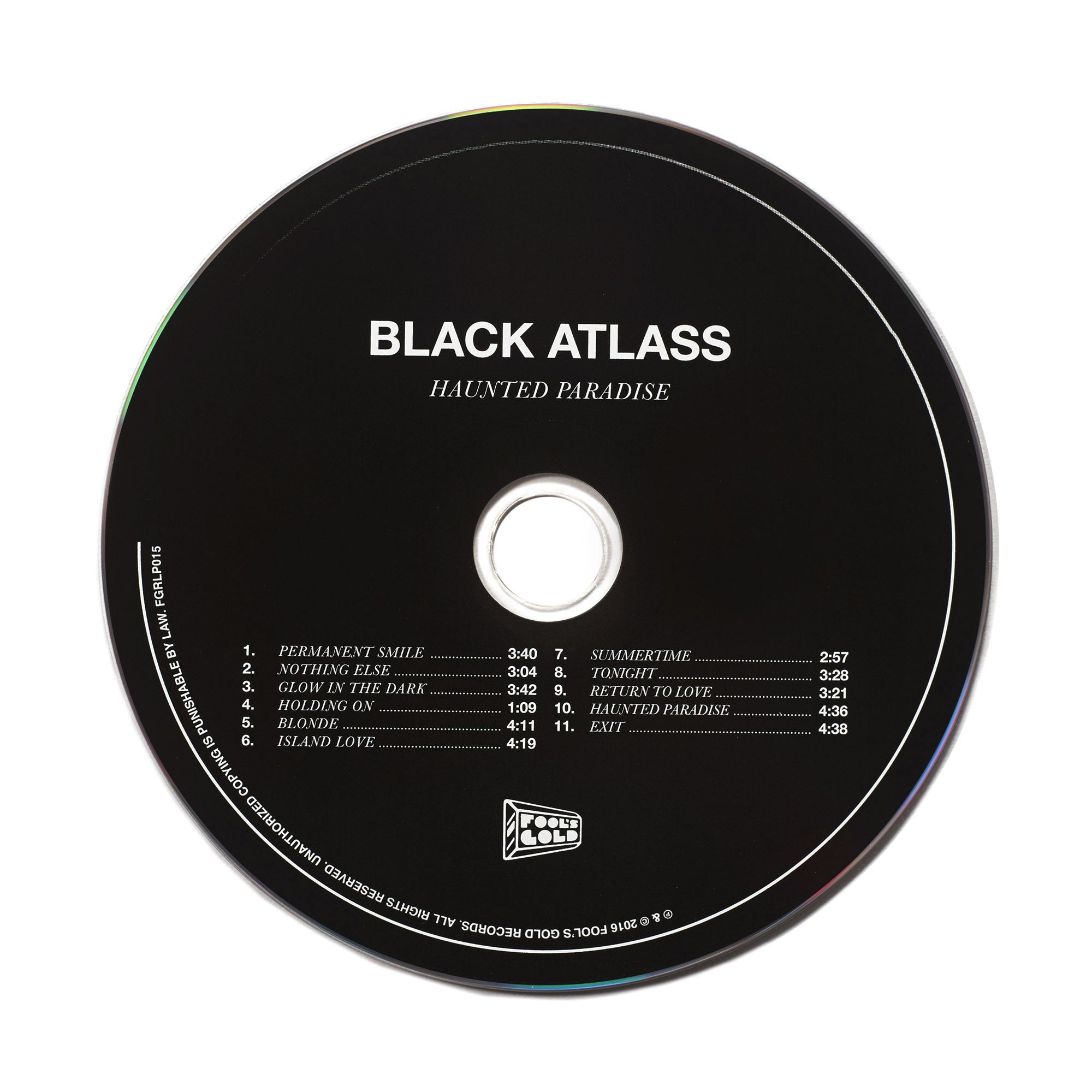 "Black Atlass ""Haunted Paradise"" CD"
