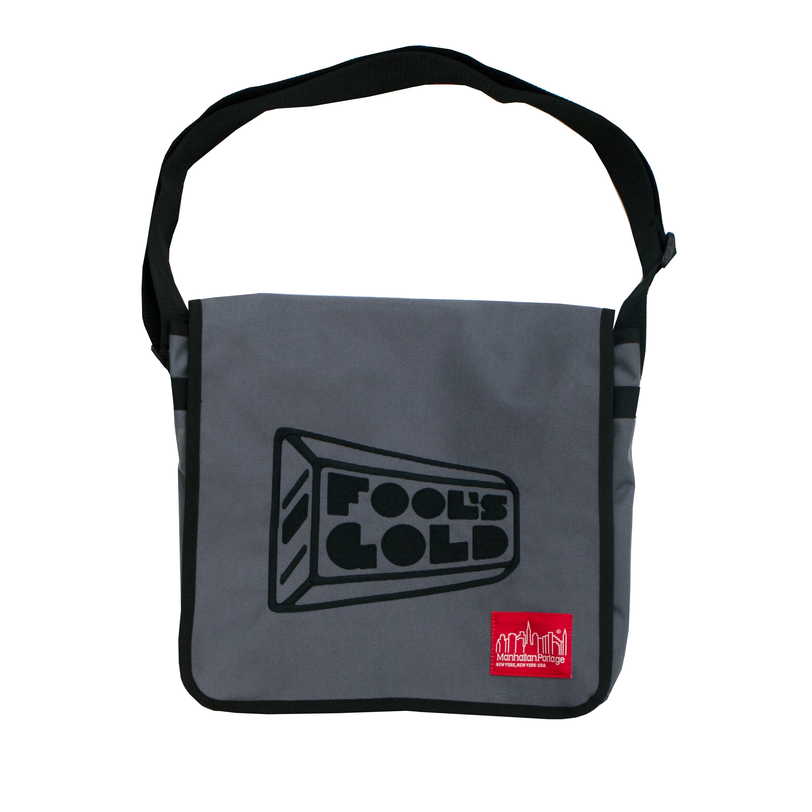 Fool's Gold x Manhattan Portage Embroidered Logo DJ Bag