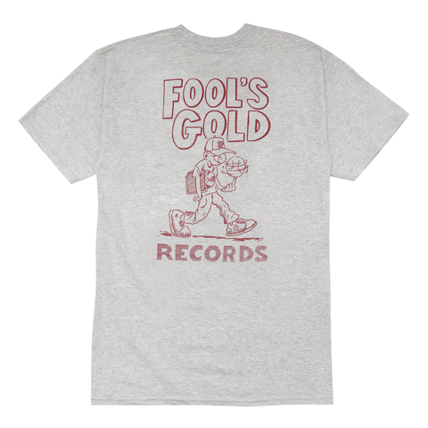 "Fool's Gold ""Loud Boy Goes To College"" Tee - Heather"