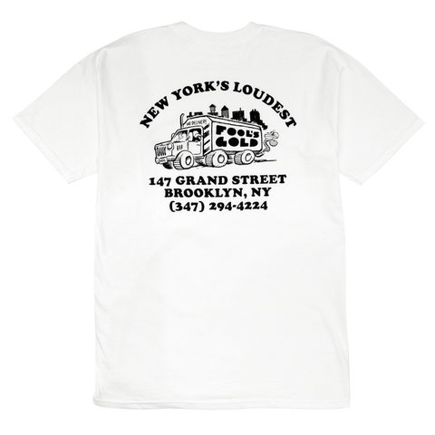 "Fool's Gold ""Loud Truck"" Tee - White"