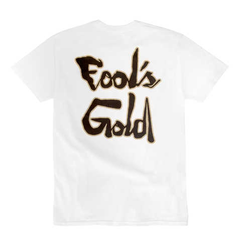 "Fool's Gold ""Paradise Script"" Tee - White"