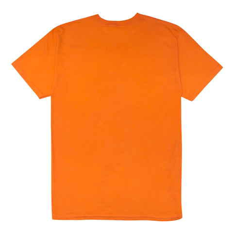 "Fool's Gold ""Micro Logo"" Tee - Orange"