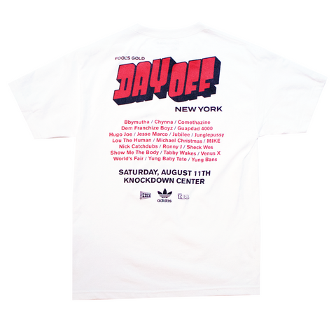 "Fool's Gold ""Day Off NY '18 Poster"" Tee"