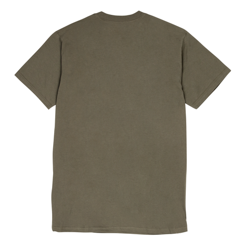 "Fool's Gold ""Micro Logo"" Tee - Army Green"