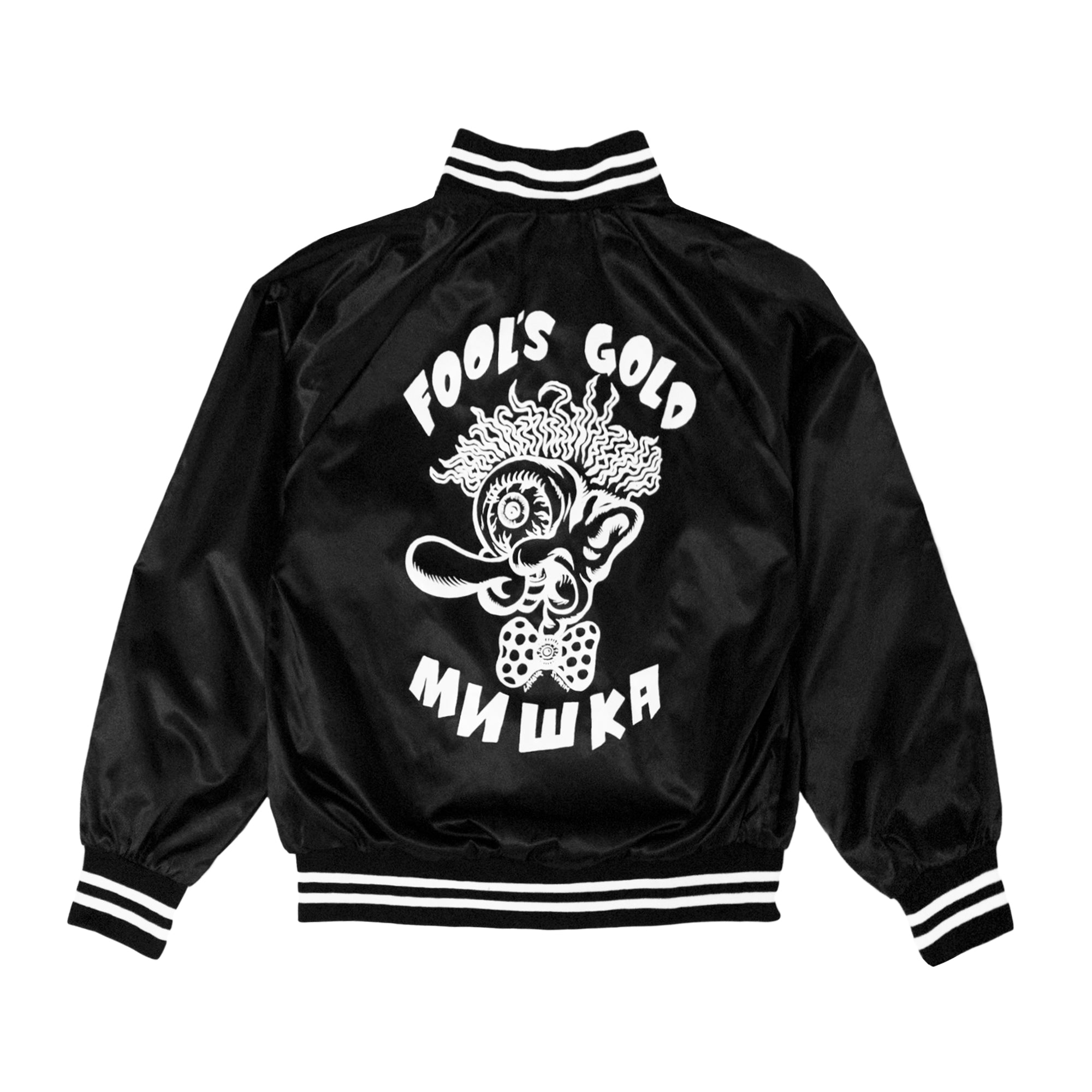 "Fool's Gold x Mishka ""Insane"" Satin Jacket"