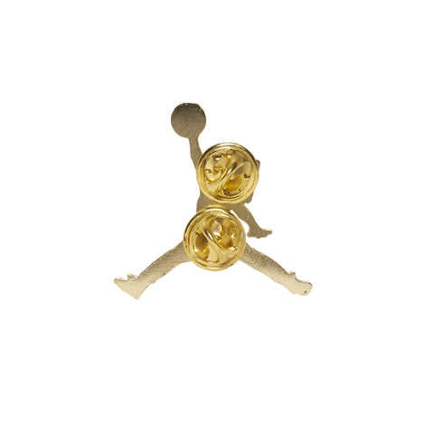 "Fool's Gold ""Air Goldbar"" Metal Pin"