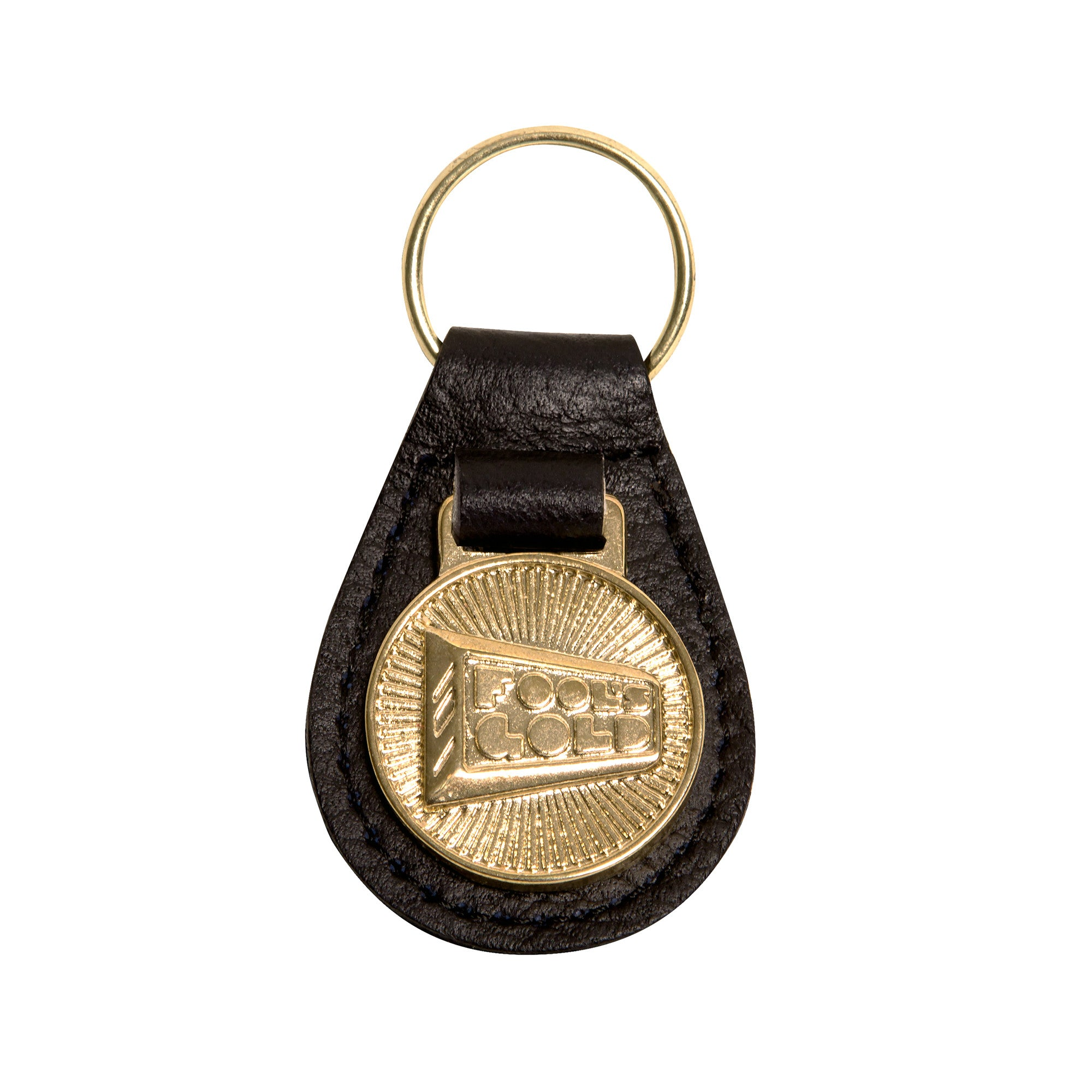 "Fool's Gold ""Logo"" Key Fob"