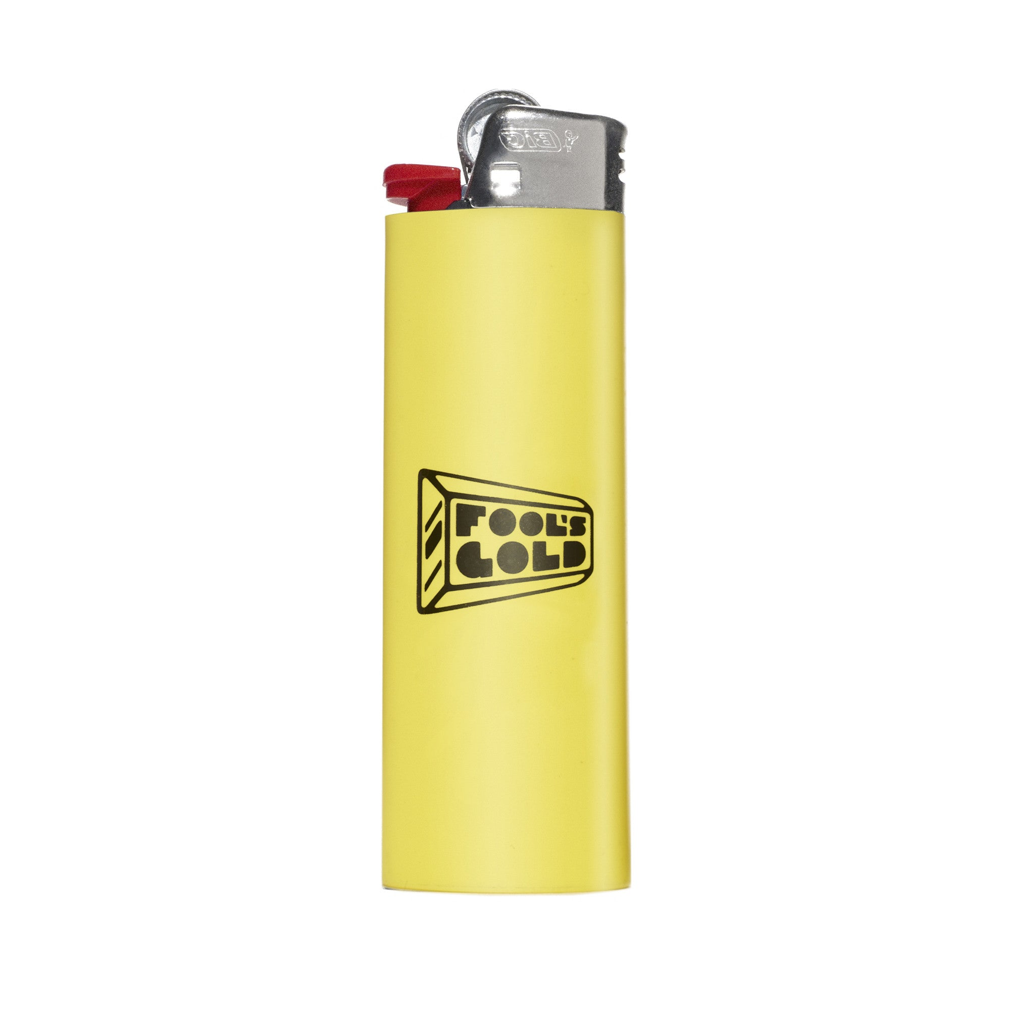 "Fool's Gold ""Logo"" Lighter - Gold"