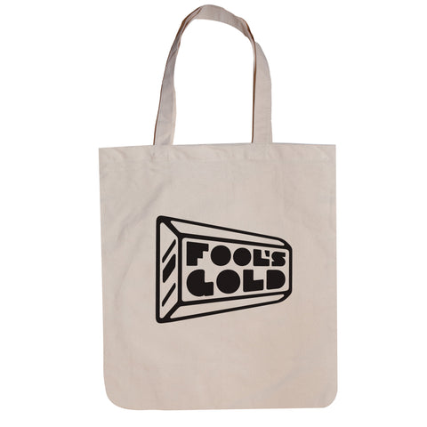 "Fool's Gold ""Logo"" Tote - Natural"