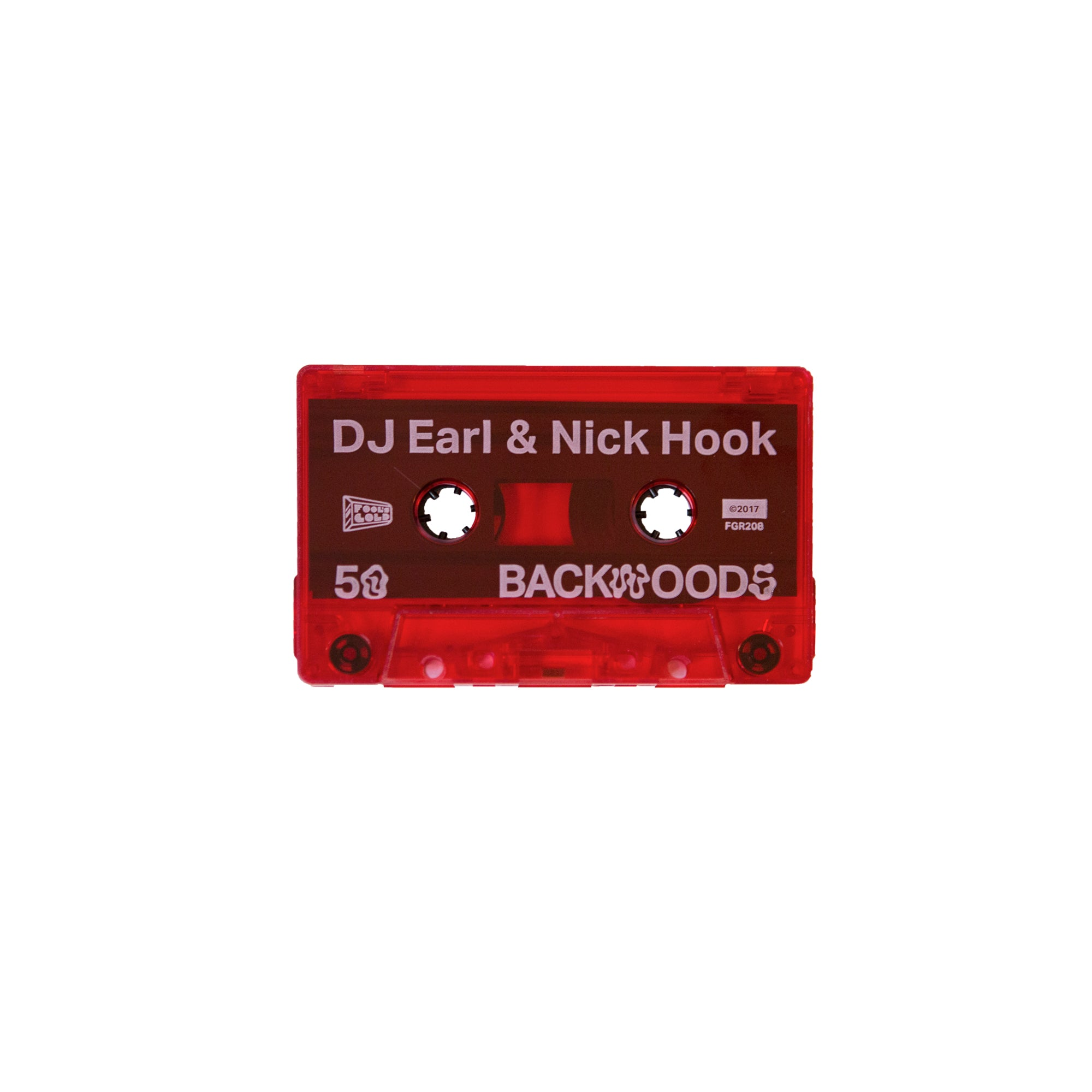 "Nick Hook & Dj Earl ""50 Backwoods"" Cassette"