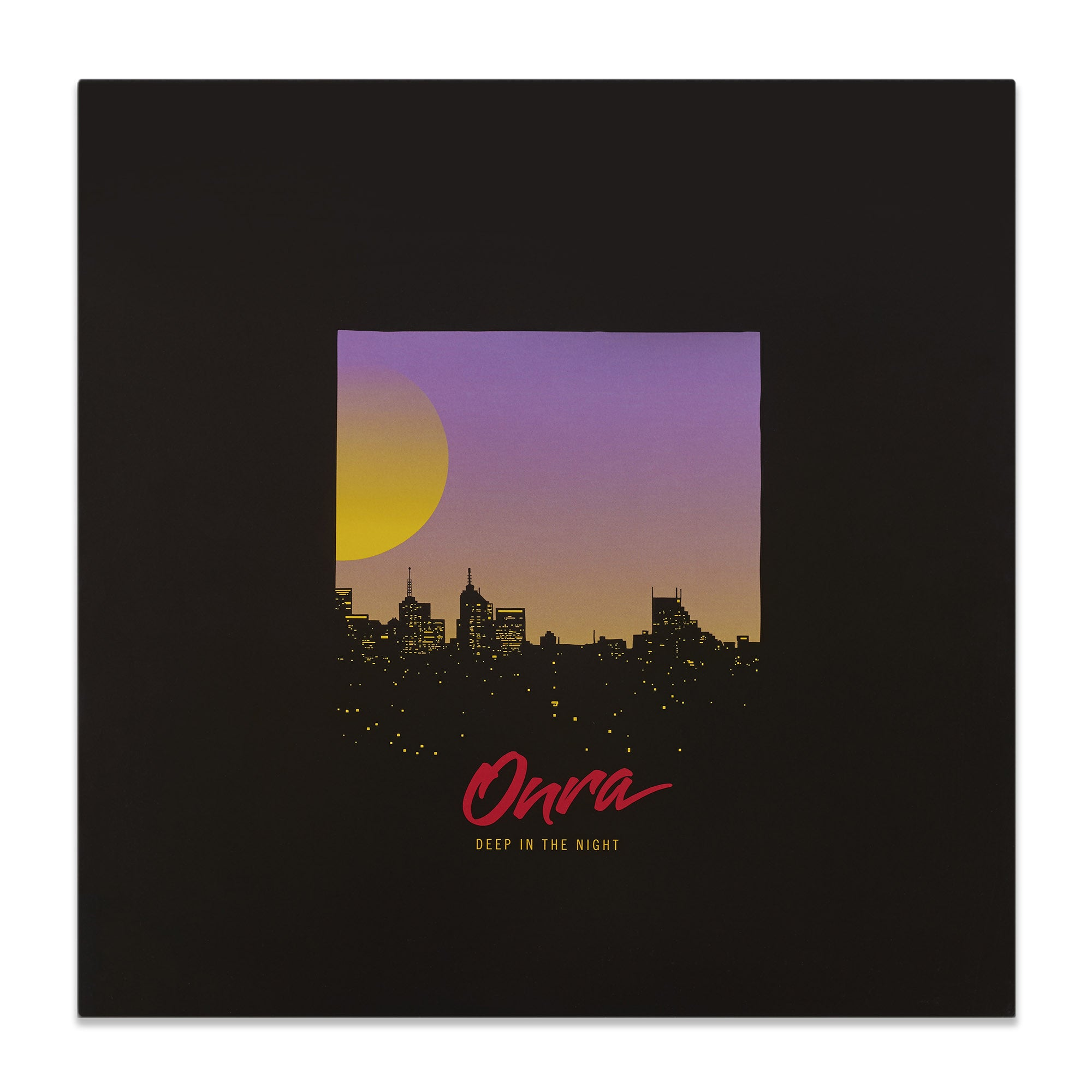 "Onra ""Deep In The Night"" 12"""