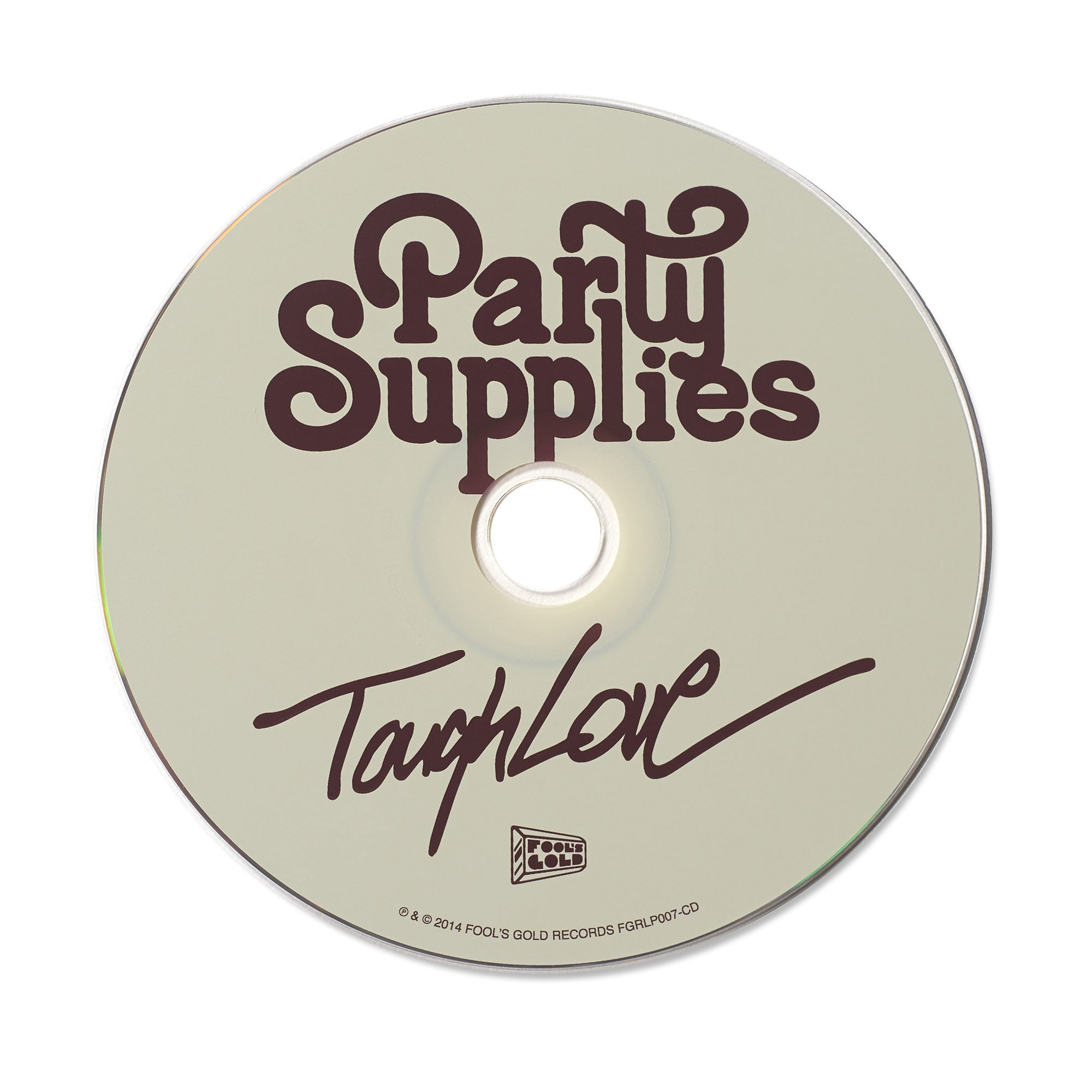 "Party Supplies ""Tough Love"" CD"