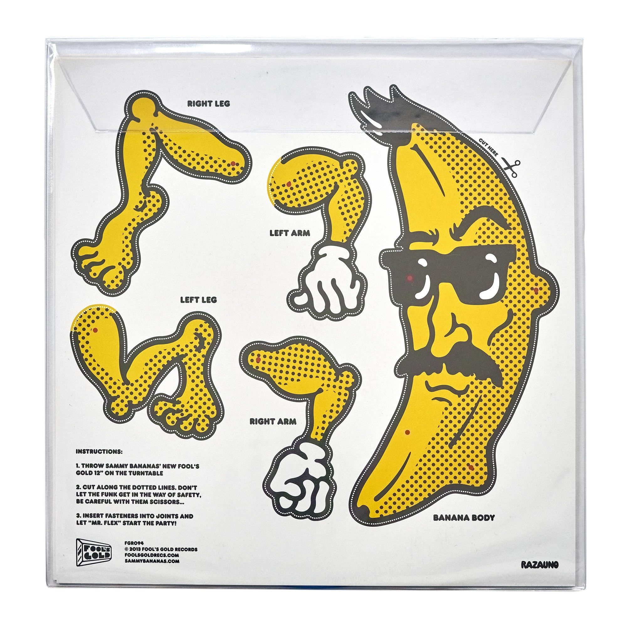 "Sammy Bananas ""Flexin"" Color 12"""