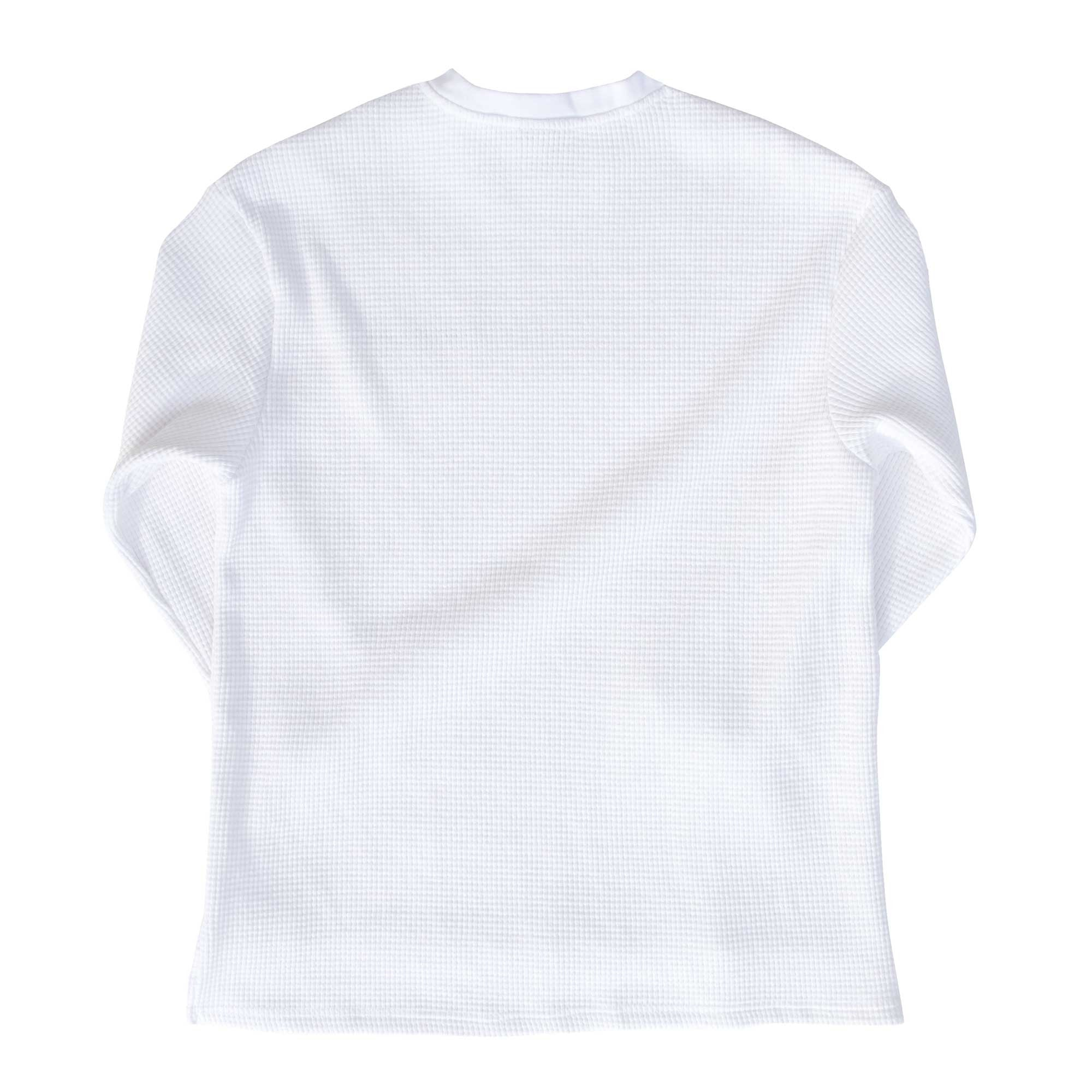 "Fool's Gold ""Spell Out"" Embroidered Thermal - White"