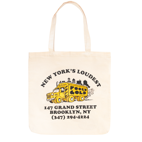 "Fool's Gold ""Loud Truck"" Tote"