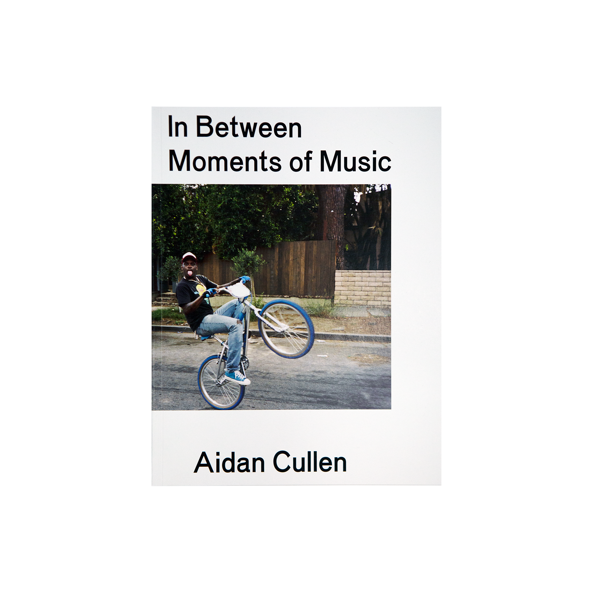 "Aidan Cullen ""In Between Moments Of Music"" Book"