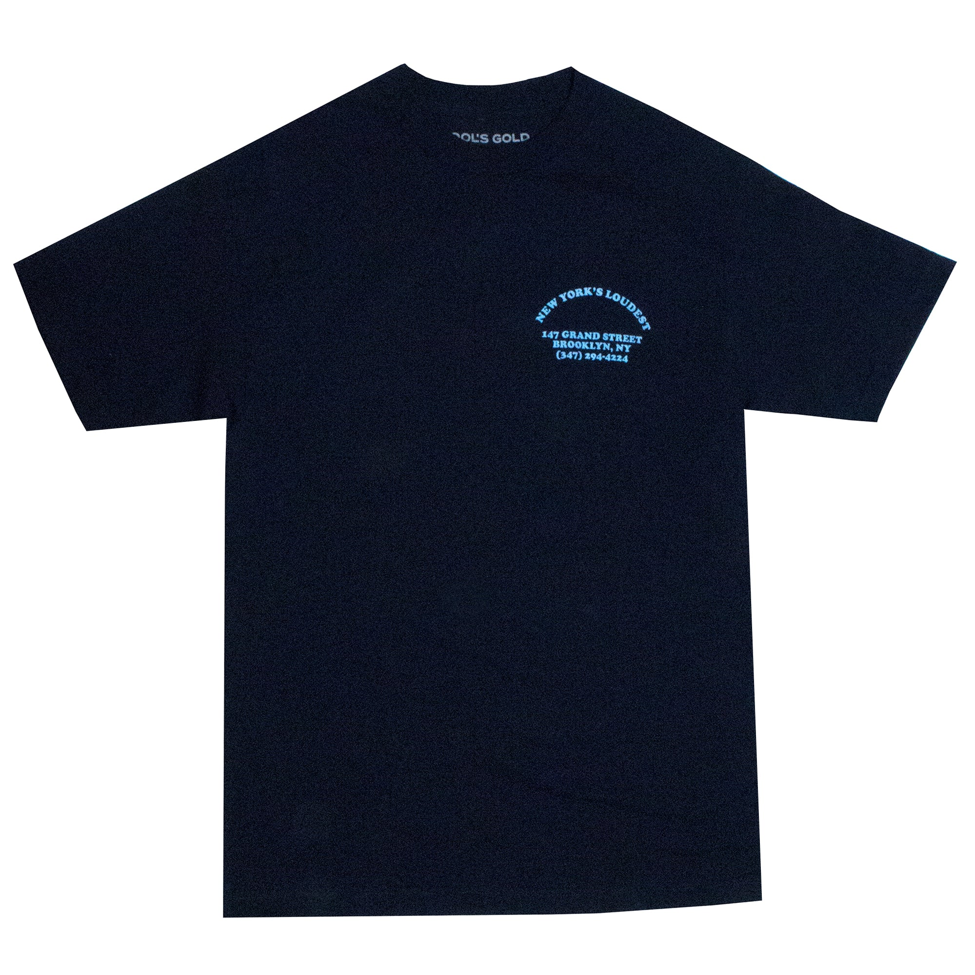 "Fool's Gold ""Loud Truck"" Tee - Navy / Carolina"