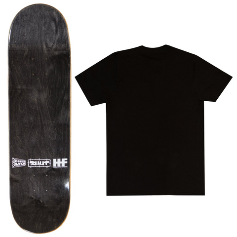 "Fool's Gold x SHUT ""Ride For Me"" Tee & Deck Bundle"