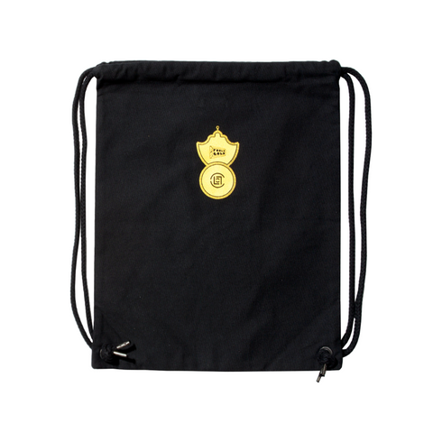 "Fool's Gold x CLOT ""Pawn Shop"" Drawstring Bag"