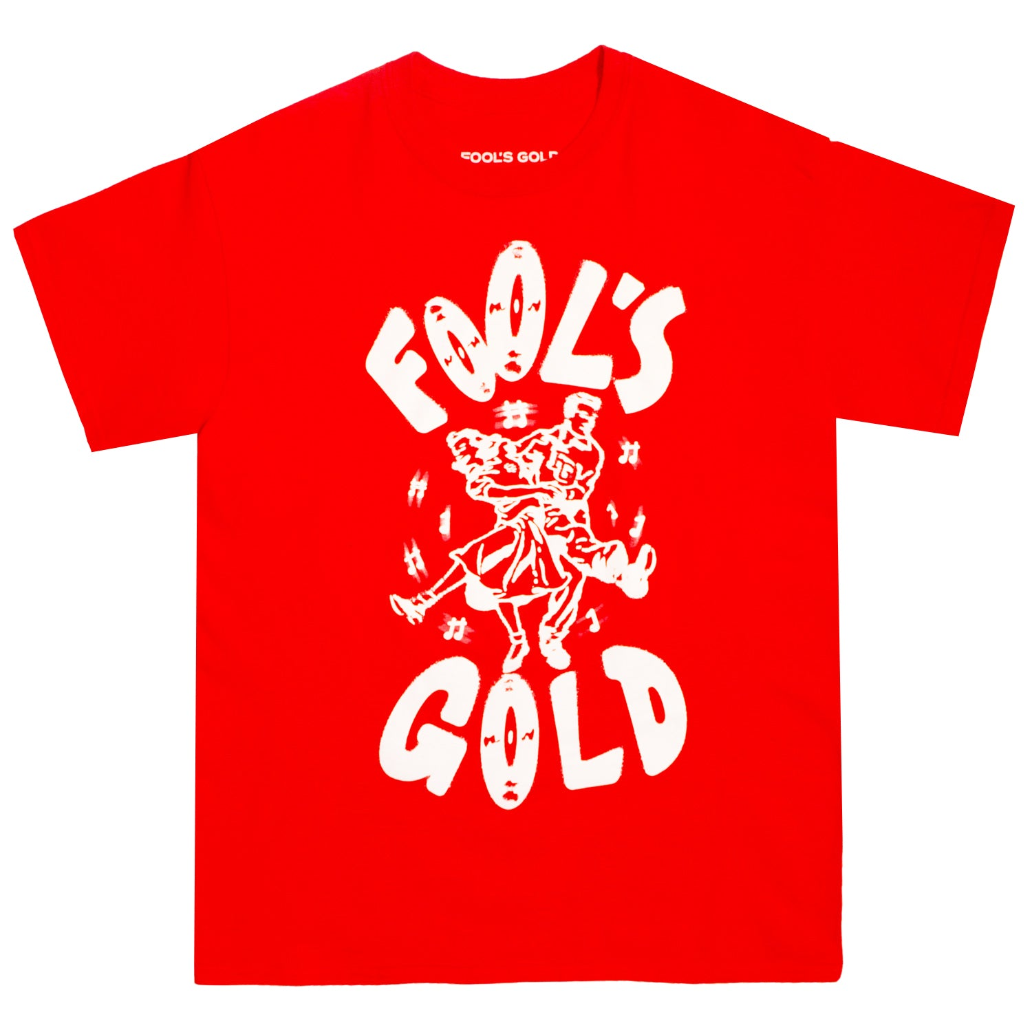 "Fool's Gold ""Dance"" Tee - Red"