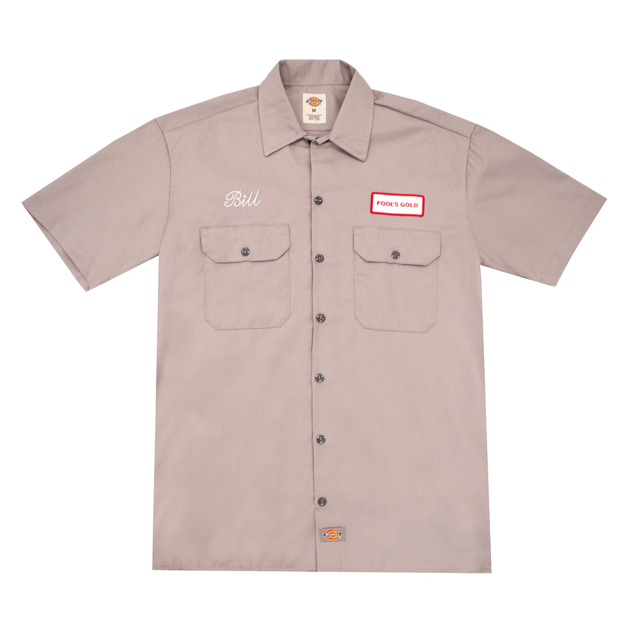 "Fool's Gold ""Bill"" Dickies Short Sleeve Work Shirt"