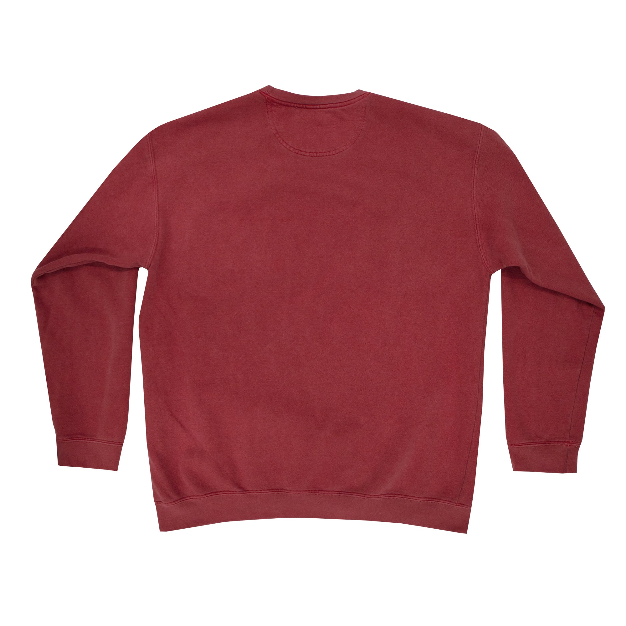 "Fool's Gold ""Spell Out"" Crewneck - Red"