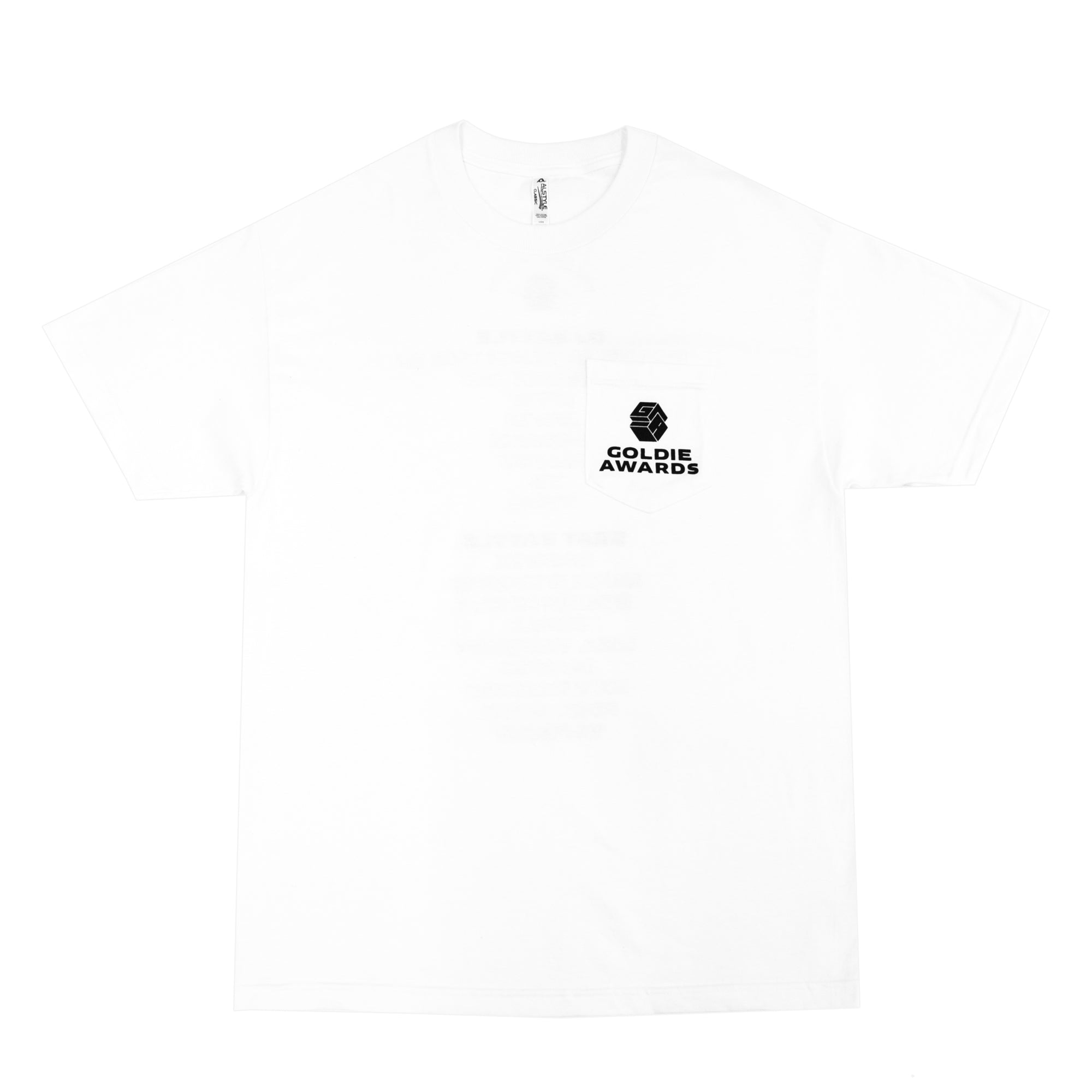 "Goldie Awards ""Lineup"" Pocket Tee"