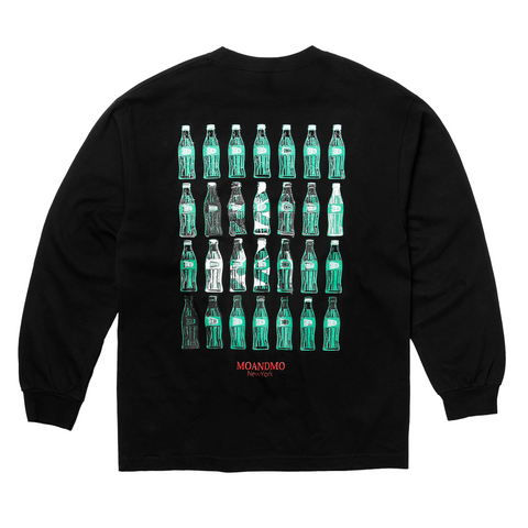 "Fool's Gold x MOANDMO ""Cola"" Long Sleeve - Black"