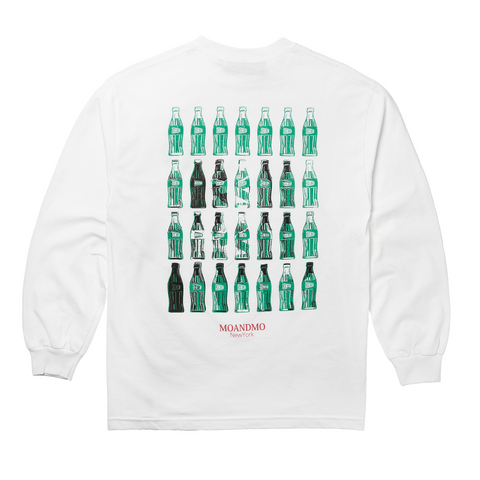 "Fool's Gold x MOANDMO ""Cola"" Long Sleeve - White"