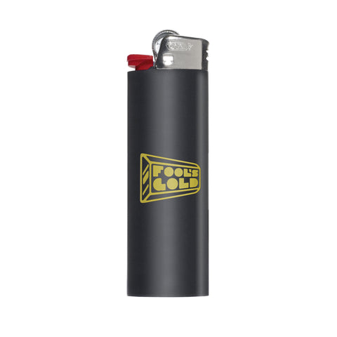 "Fool's Gold ""Logo"" Lighter - Black"