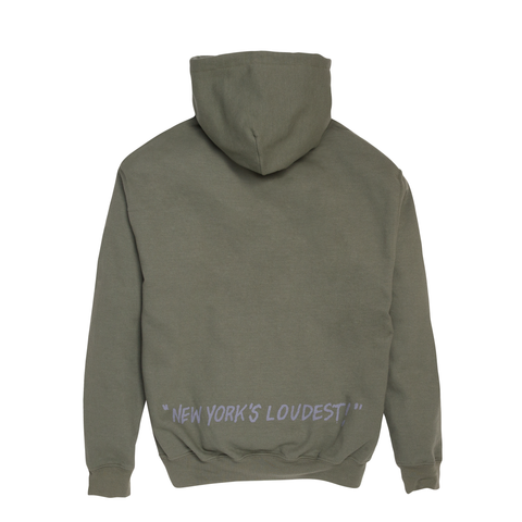 "Fool's Gold ""Loud Boy"" Hoodie - Army Green"