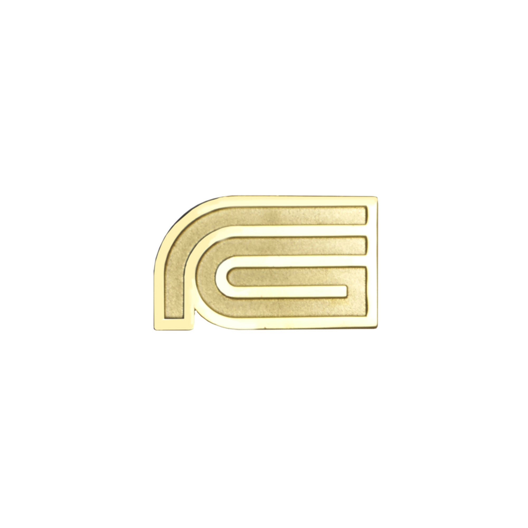 "Fool's Gold ""808"" Metal Pin"