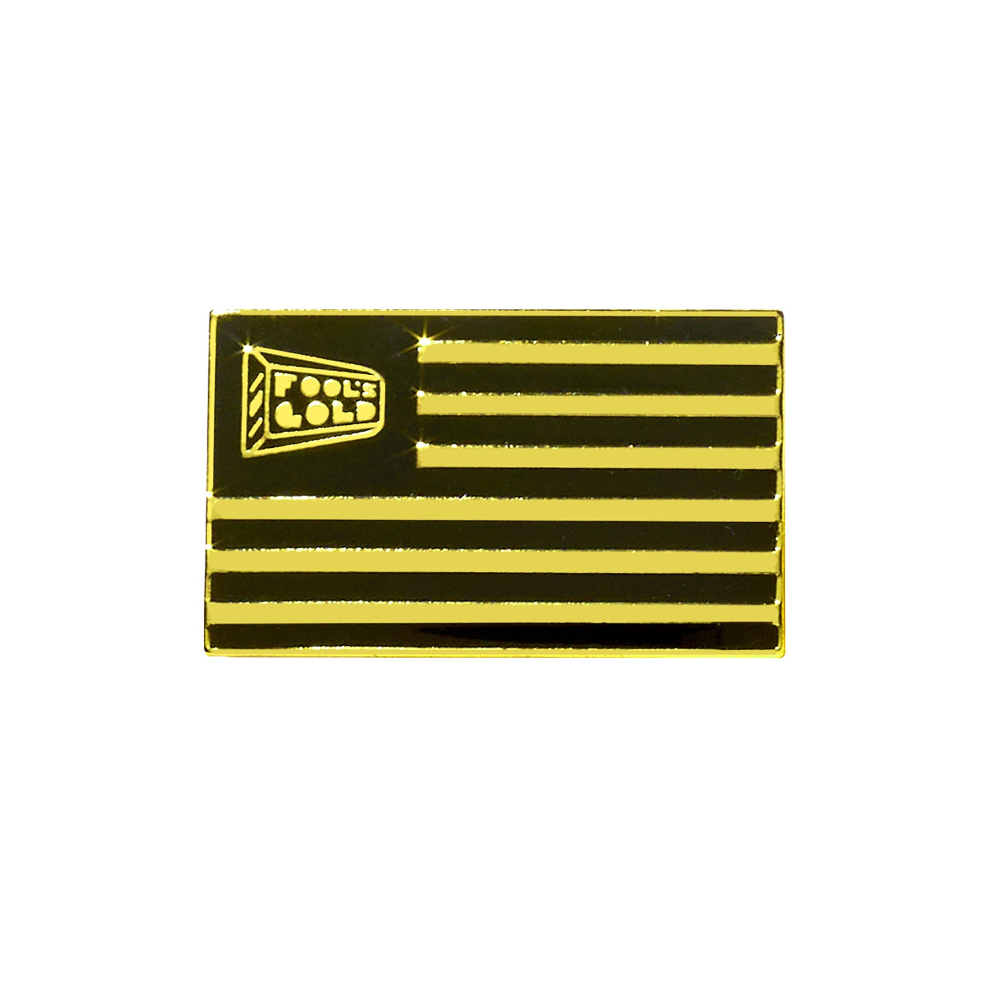 "Fool's Gold ""Flag"" Enamel Pin"