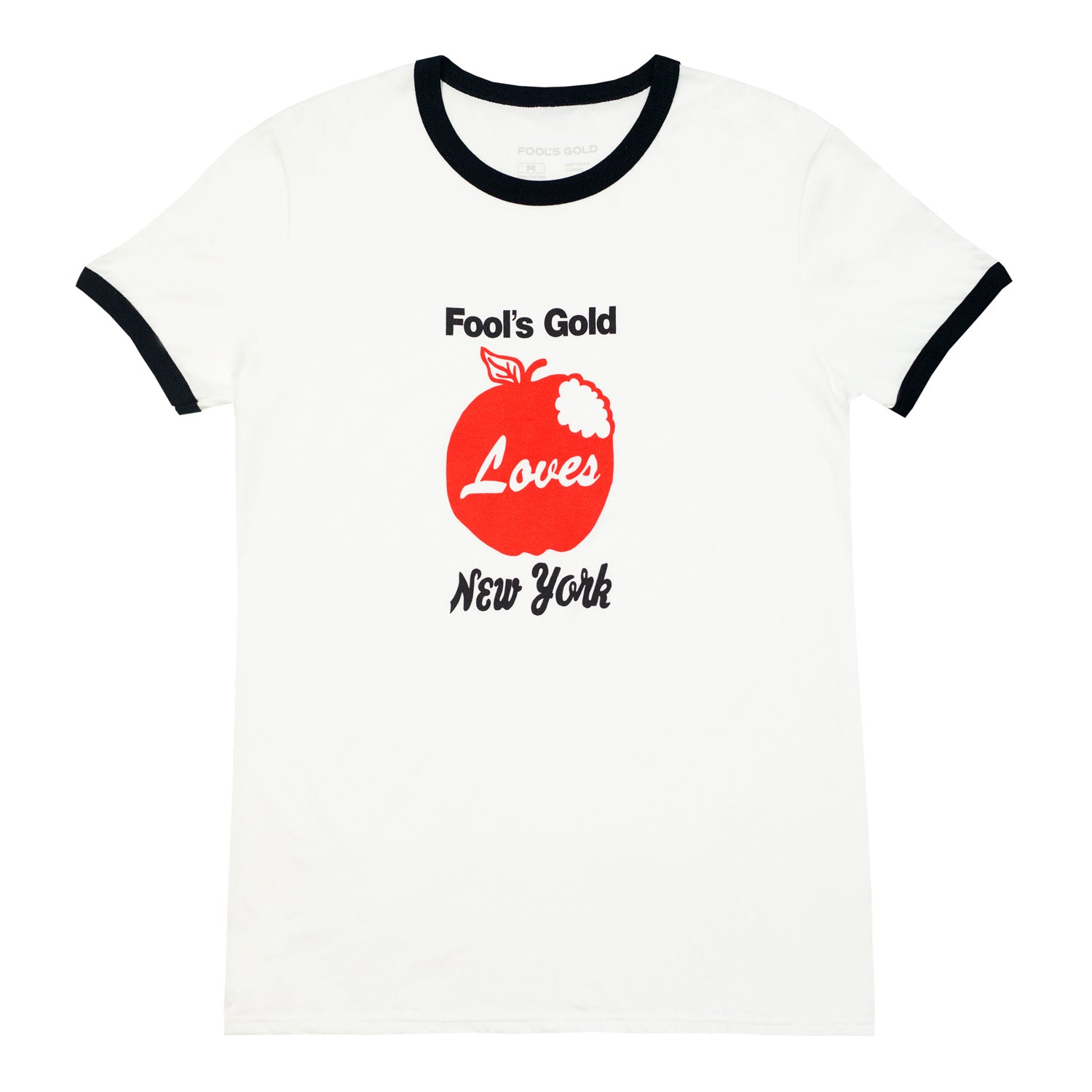 "Fool's Gold ""Big Apple"" Ringer Tee"