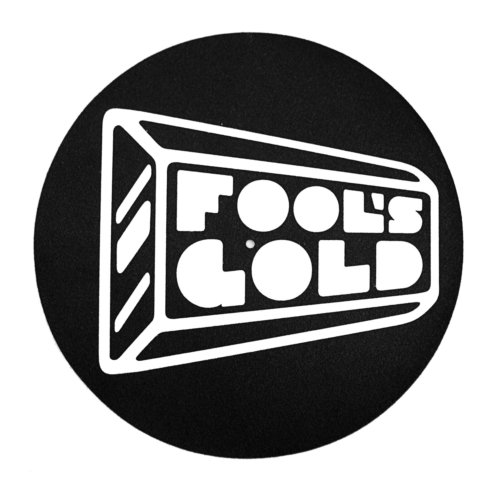 "Fool's Gold ""Logo"" Slipmats (Pair)"
