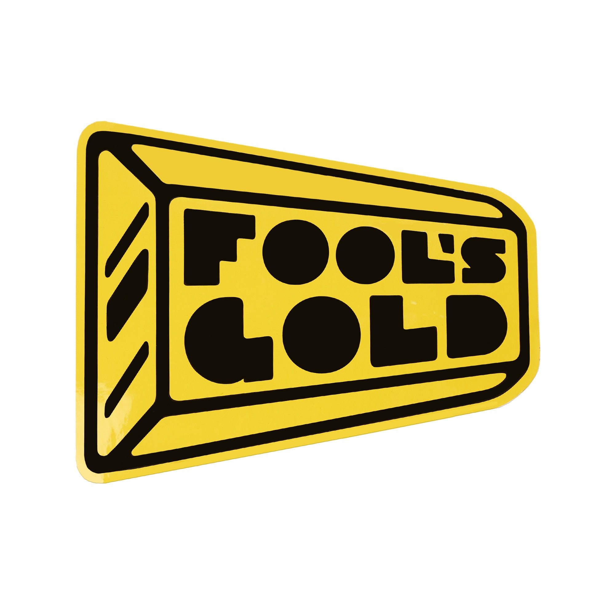 "Fool's Gold ""Big Ass Logo"" Sticker"