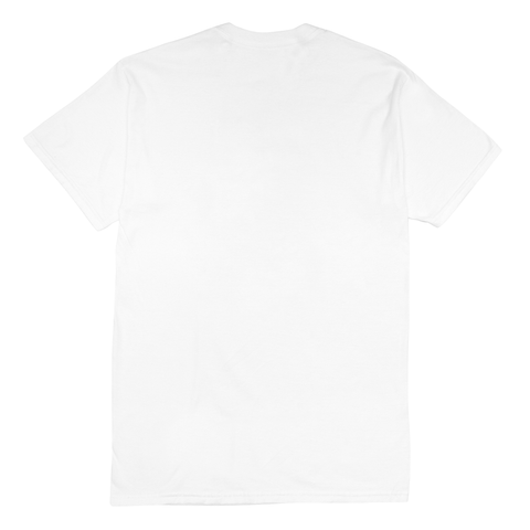 "Fool's Gold ""Micro Logo"" Tee - White"