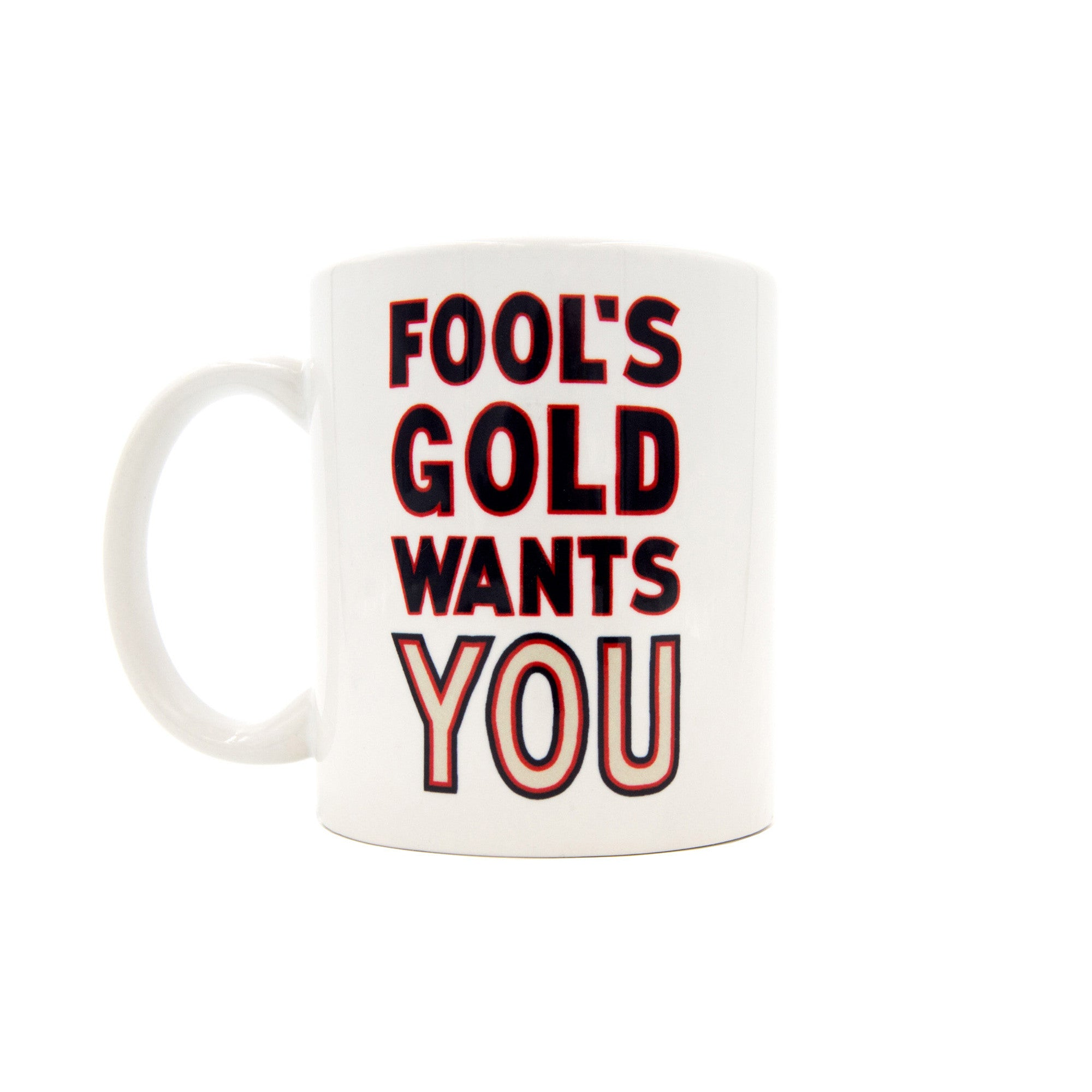 "Fool's Gold ""Sam"" Mug"