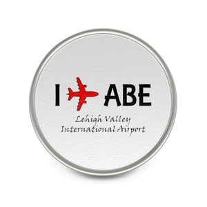 I Fly ABE Metal Pin