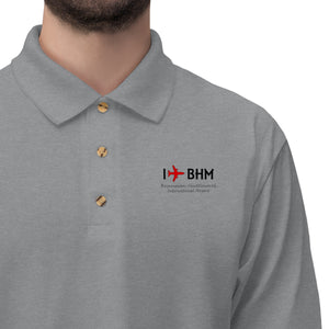 I Fly BHM Men's Jersey Polo Shirt