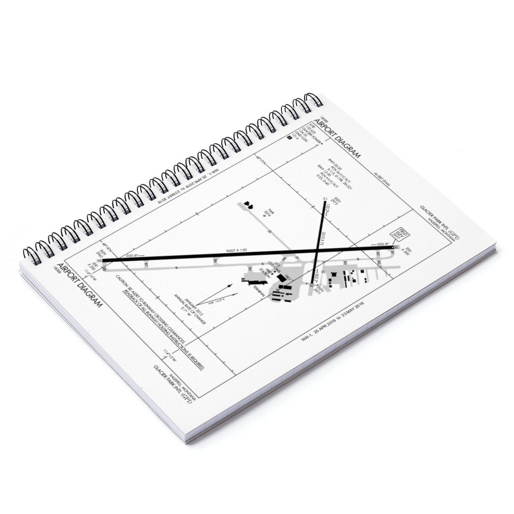 GPI Spiral Notebook - Ruled Line