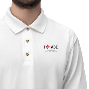 I Fly ABE Men's Jersey Polo Shirt