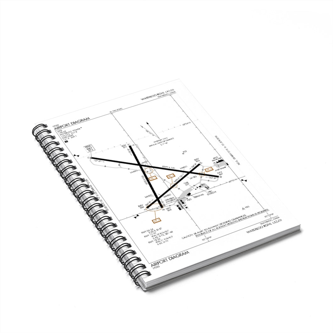 ALO Spiral Notebook - Ruled Line