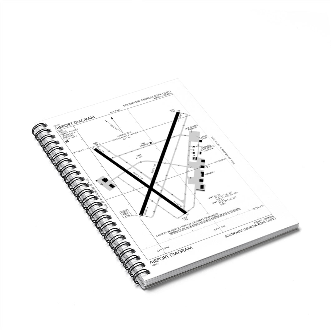 ABY Spiral Notebook - Ruled Line