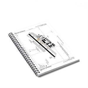 CRQ Spiral Notebook - Ruled Line
