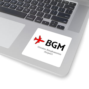 Fly BGM Square Stickers
