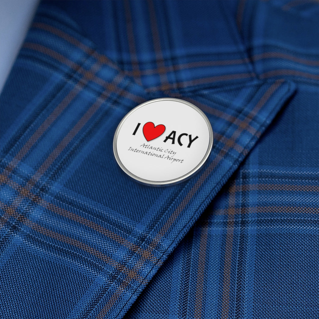 ACY Heart Metal Pin