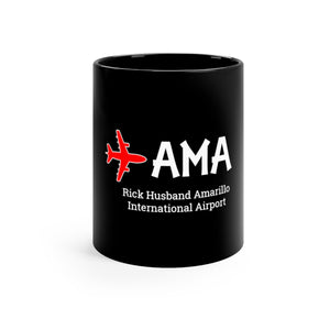 Fly AMA Black mug 11oz
